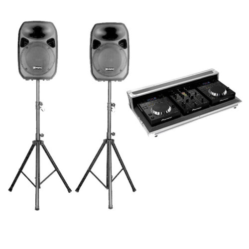 KIT system Audio DJ for private parties