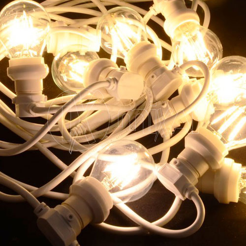 Cord with bulbs lamps for lighting Vintage Style