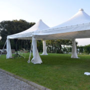 rental tents and small shells Tuscany
