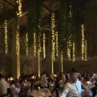 rental and lighting service for weddings and events in Tuscany