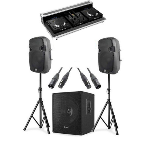 Set impianto Audio DJ PLUS per feste